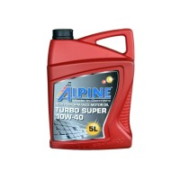 Alpine 10W-40 Turbo Super API CI-4/SL MB-228.3 (5 л.)